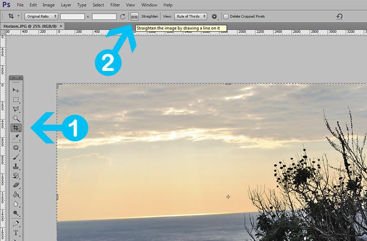 straighten-horizon-in-photoshop-step-3