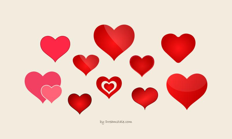 Freebie: Valentine Heart Vectors