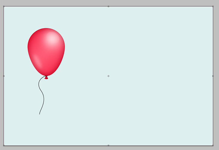 create party balloons in photoshop step 9
