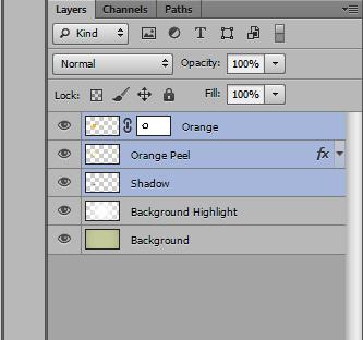 orange text effect photoshop tutorial 9c