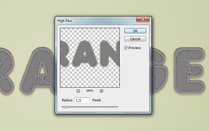 Orange Text effect photoshop tutorial 16b