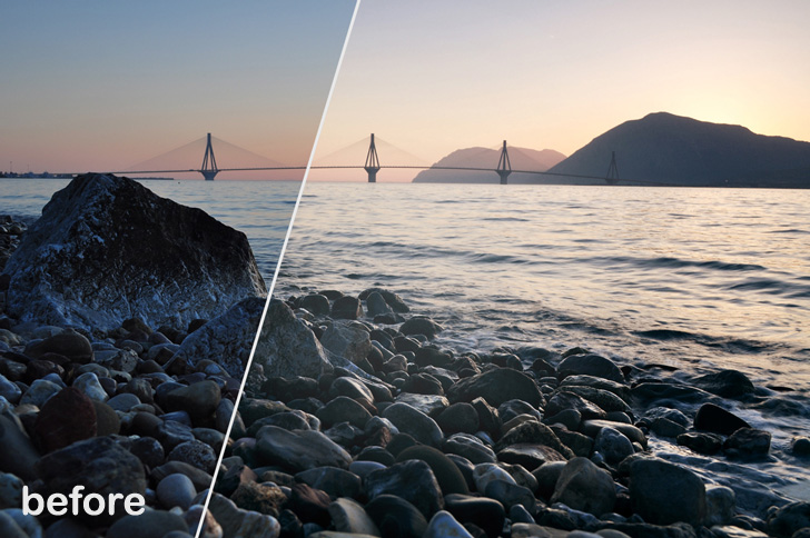 Dreamstale Magic Sunset Photoshop Action