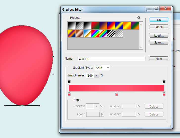 create party balloons in photoshop step 3b