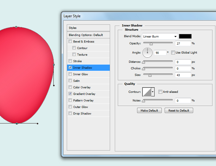create party balloons in photoshop step 3c