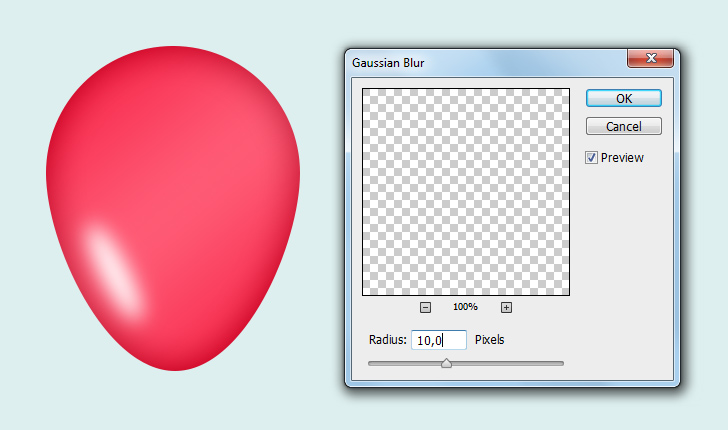 create party balloons in photoshop step 4c