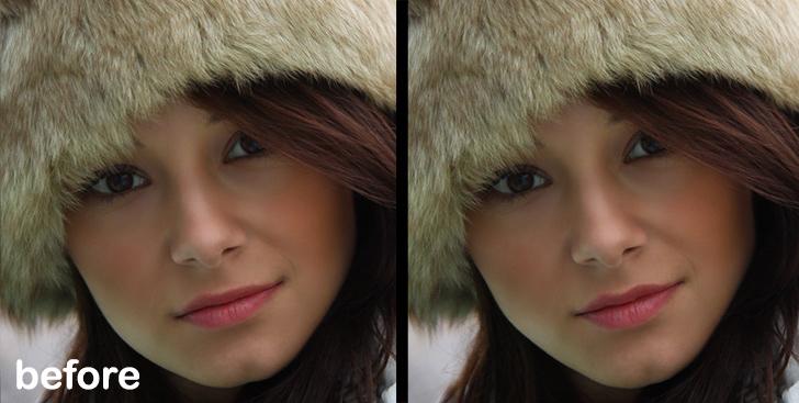 photo retouching photoshop tutorial step 5d