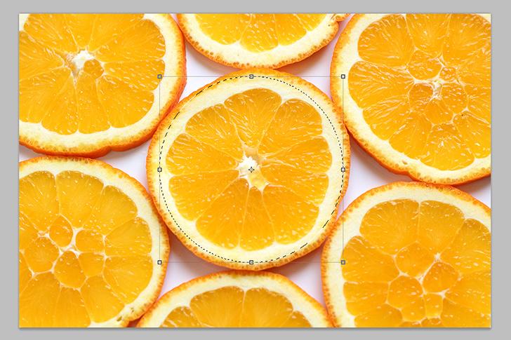 orange text effect step 7a