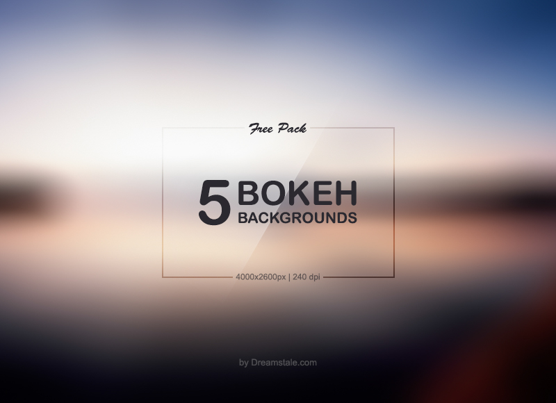 Download 5 HD Free Bokeh Backgrounds