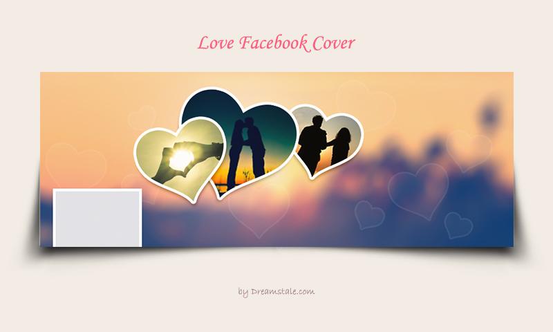 Freebie: Love Facebook Covers PSD