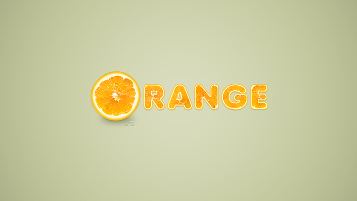 orangetext effect photoshop tutorial preview