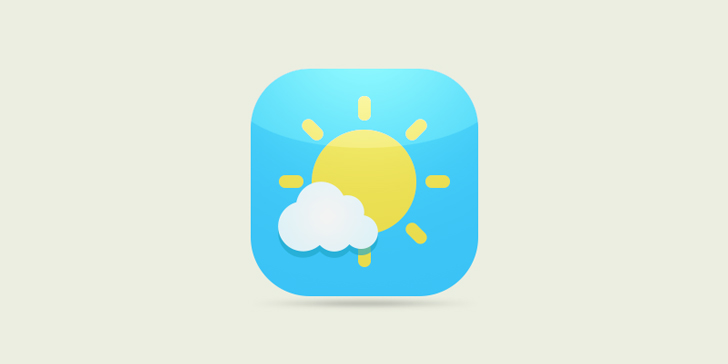 Create weather icons in photoshop