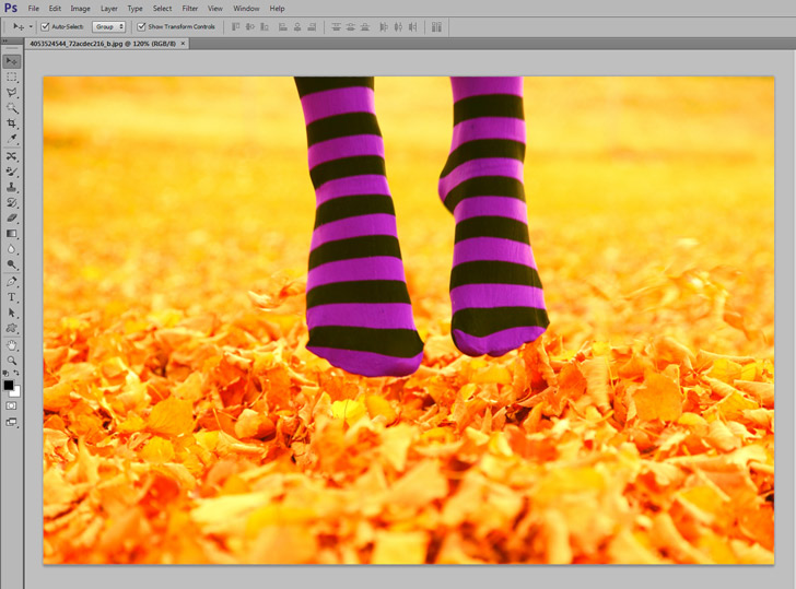 photoshop color replacement tool step 1