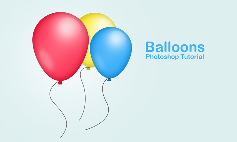 creating party balloons in photoshop