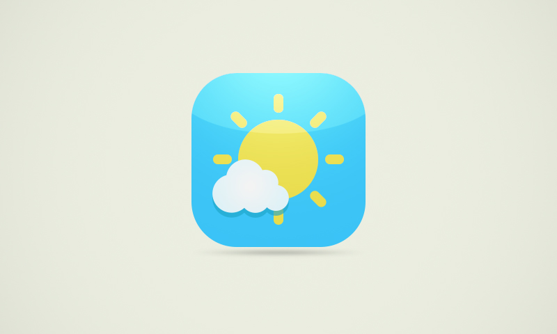 Create weather icons with photoshop - featured