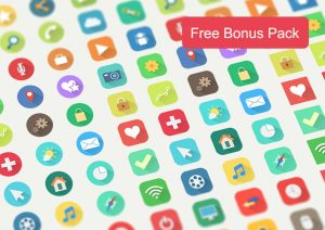 download long shadow premium icons