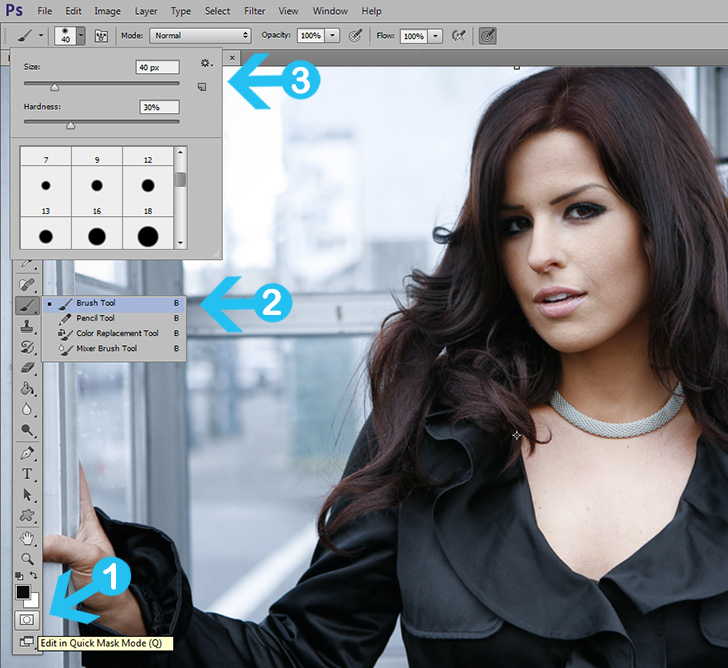 Tutorial Change Hair Color In Photoshop Dreamstale