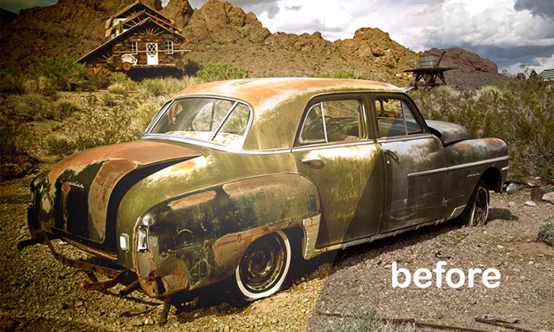Retro Lomo Effect Tutorial in Photoshop