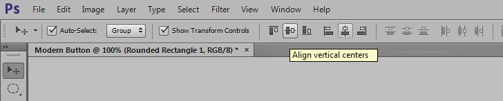 modern web buttons in photoshop step 3b