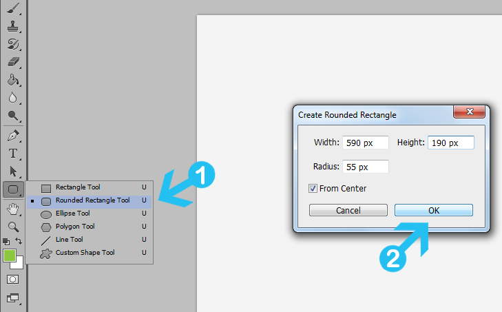 Create Modern Web Buttons in Photoshop - Dreamstale