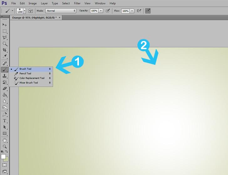 orange text effect in photoshop step 2c