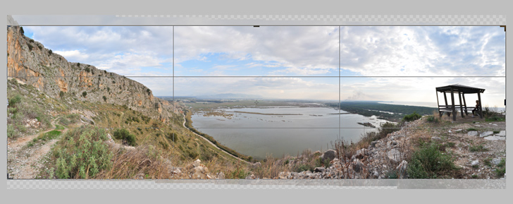 create panoramic photos with photoshop step 3