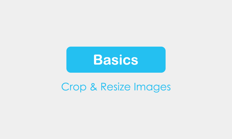 Basics: Crop and Resize Images in Photoshop