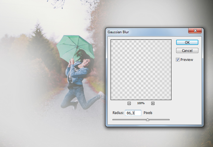 rain drop effect in photoshop step 2b