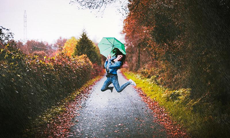 rain effect in photoshop - photoshop tutorial