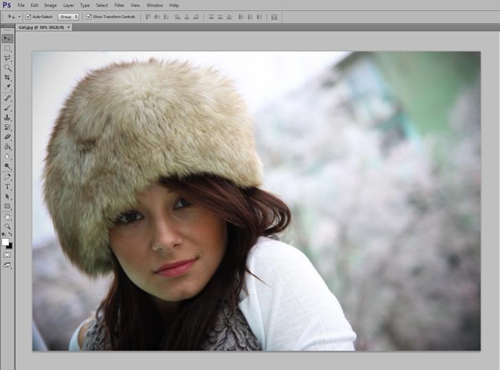 photo retouching step 1