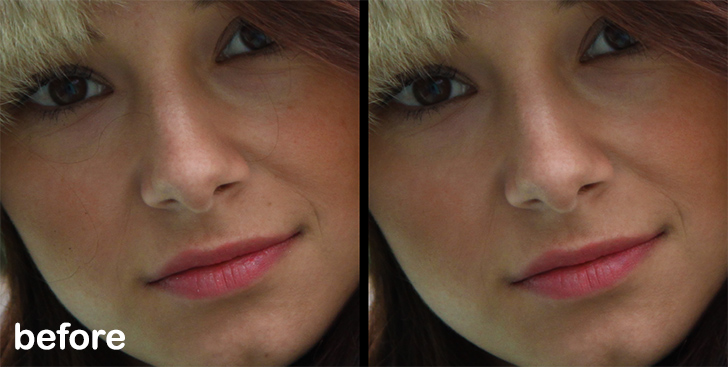 photo retouching step 2b