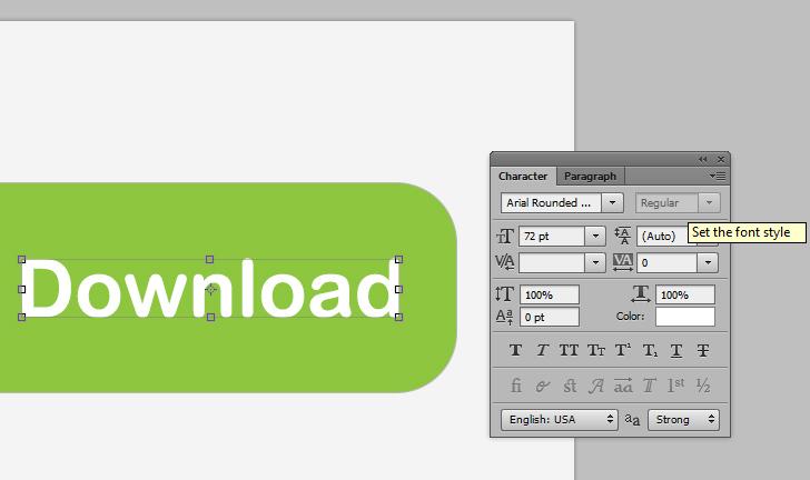 modern web buttons step 6a