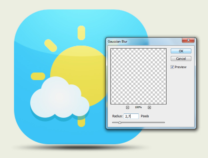 cerate weather icons in photoshop step 10c