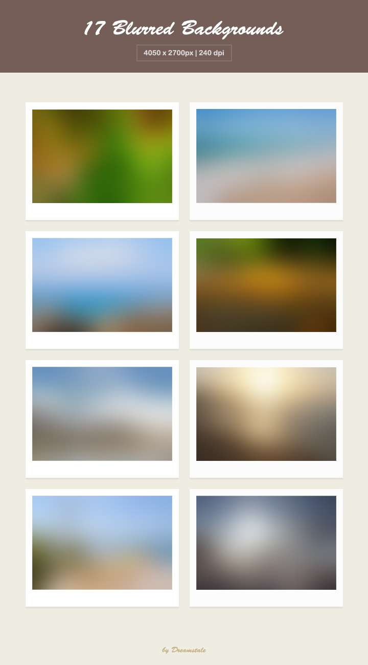 Download 17 hd blurred backgrounds