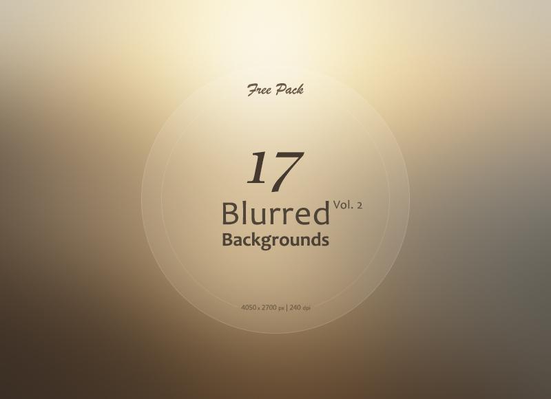 Freebie: 17 Blurred Backgrounds Vol.2
