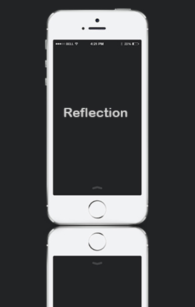 quick tip: create a simple reflection in photoshop - step 3