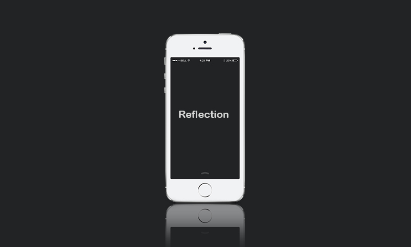 quick tip: create reflection in photoshop