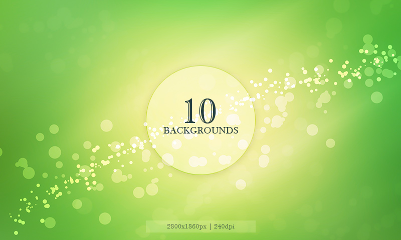 Free Download: 10 Blurred Backgrounds