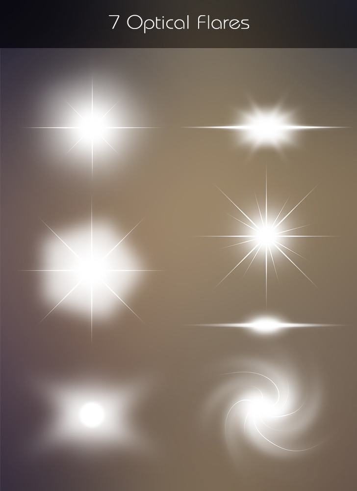 Free Download: 7 Optical Flares