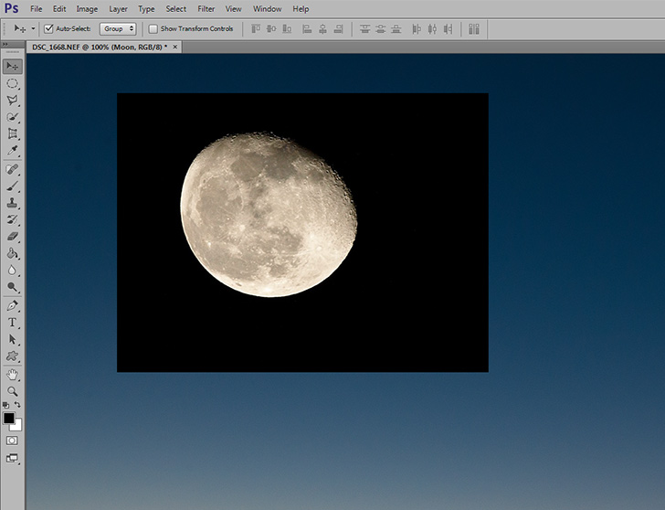 layer mask in photoshop - step 1