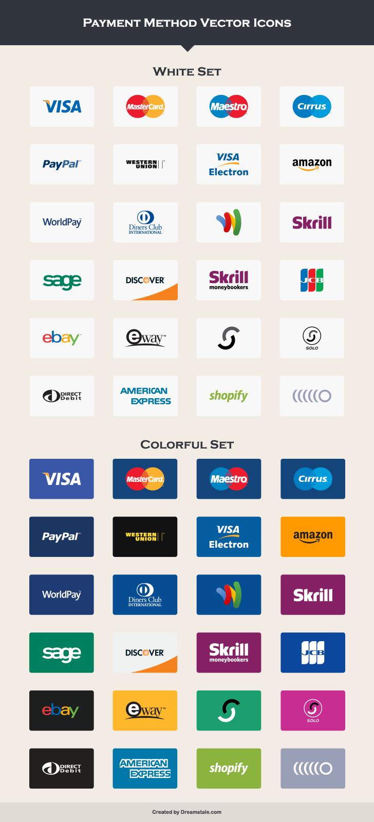 Credit Card Logos Vector Free Download