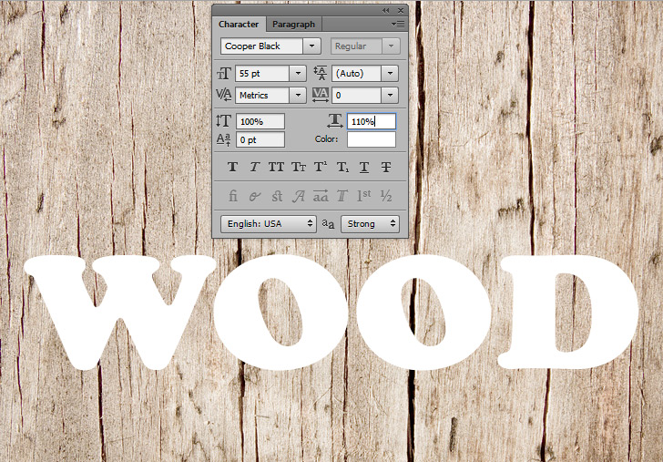 wood-texture-text-effect-in-photoshop-step-2