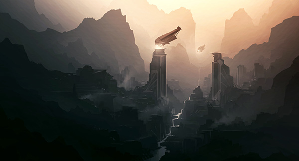 incredible Sci-fi Artworks 13