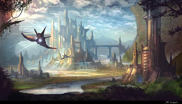 incredible Sci-fi Artworks 19