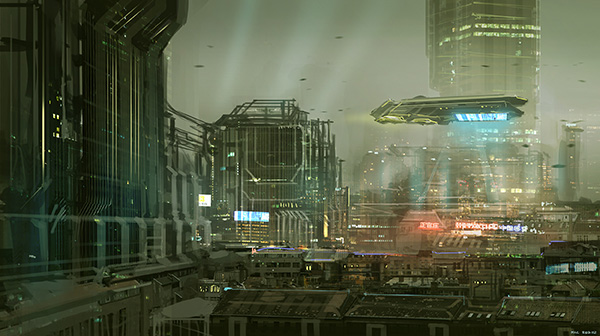 incredible Sci-fi Artworks 22