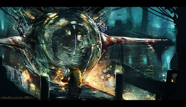 incredible Sci-fi Artworks 26
