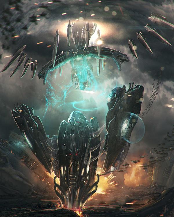 incredible Sci-fi Artworks 6