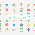 Free Download: 36 SEO Vector Icons