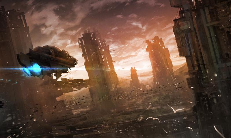 27 Incredible Sci-fi & Fantasy Artworks