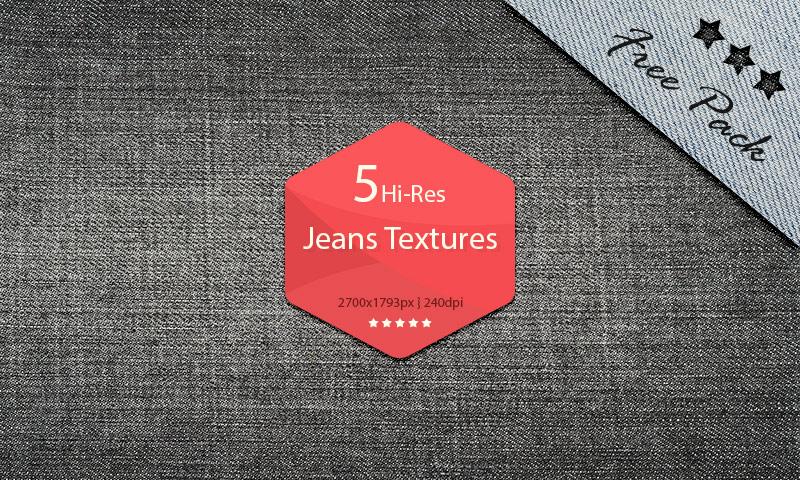 Free Download: Hi-Res Jeans Textures