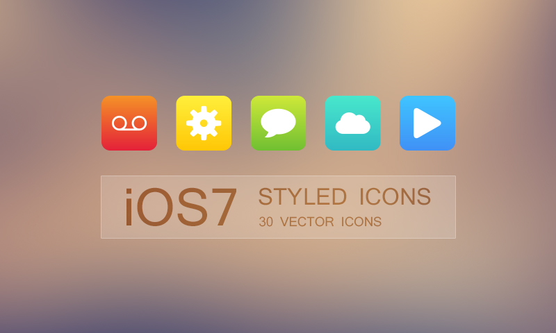 Free download 30 ios styled vector icons dreamstale this freebie includes 30 ios 7 styled vector icons 10 icon base colors including red yellow green cyan blue magenta dark grey grey light grey altavistaventures Choice Image